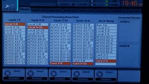 Detailed Behringer X32 Routing Example