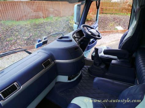 volvo fh  custom design leather interior  autostyle