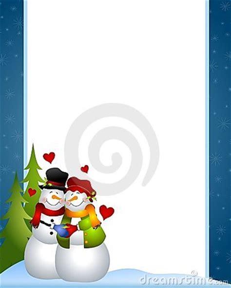 cadre d amour pour photo cadre d amour de bonhomme de neige photo libre de droits image 6927965