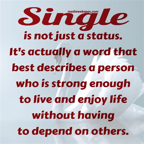 Famous Quotes About 'single Life'  Quotationof Com