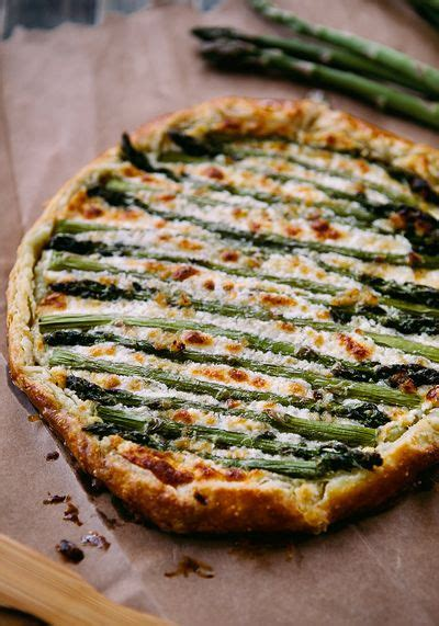 Potatoe goat cheese torte : Asparagus Goat Cheese Galette - (Free Recipe below)   Recipes, Cooking recipes, Food