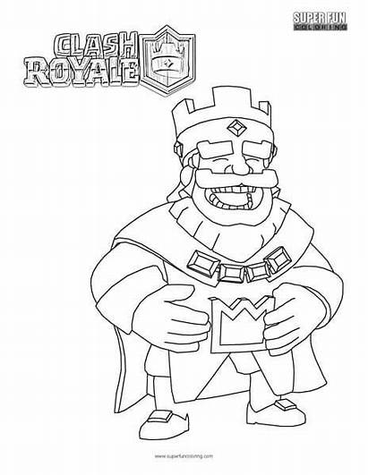 Royale Clash Coloring Pages Games Super Cool