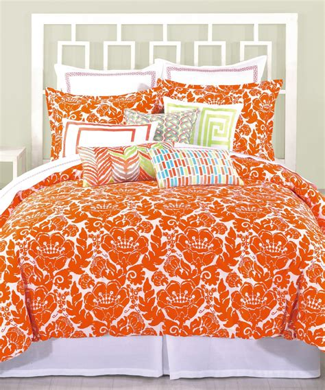 pillow shams size 10 bright orange comforters and bedding sets