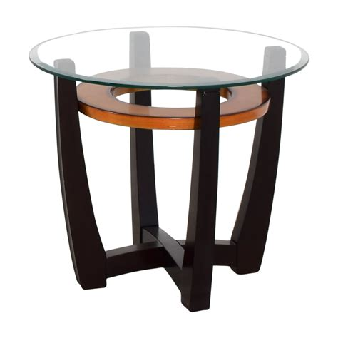 used round glass table top 89 off raymour flanigan raymour flanigan round