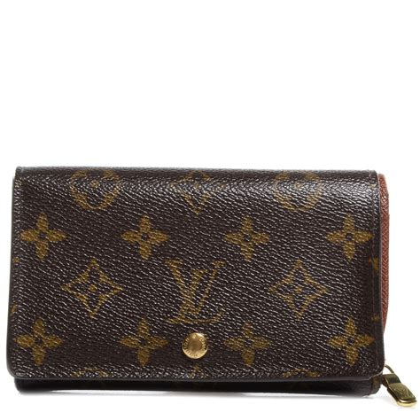 louis vuitton monogram porte monnaie tresor wallet 70000