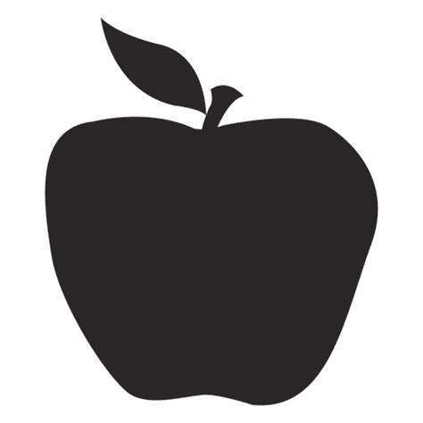 apple icon vector apple icon silhouette transparent png svg vector