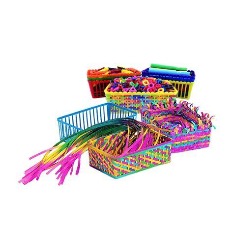 classroom weaving baskets  sets step