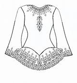 Dance Irish Coloring Pages Dress Template Dresses Printable Colouring Dancing Drawing Costume Step Solo Wedding Print Cool Drawings Creative Ballet sketch template
