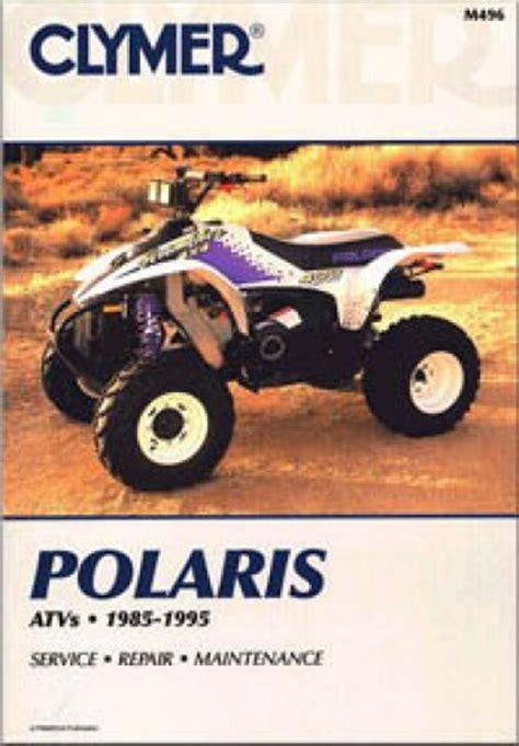 polaris    wheel atv clymer repair manual