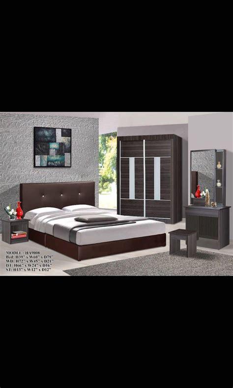 set bilik tidur murah  klang desainrumahidcom