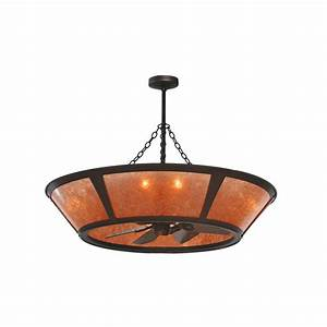 Meyda tiffany custom light in erp amber mica chandelair ceiling fan atg stores