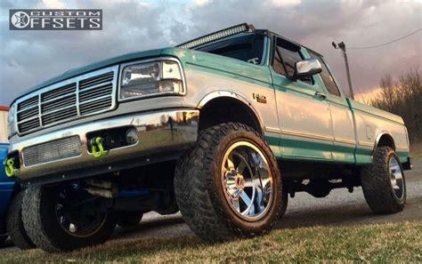 wheel offset  ford   aggressive   fender