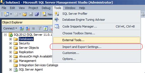 Improvement To Keyboard Shortcuts In Sql Server 2012
