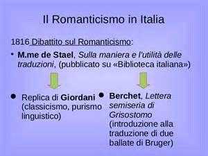 Illuminismo E Romanticismo by Il Romanticismo
