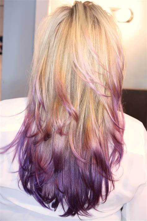 Purple Ombre Jessica Ns Photo Beautylish