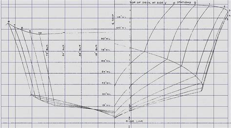 Pt Boat Line Drawings by Pt Boat Model Plans Guide Antiqu Boat Plan