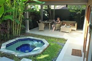 Eigener garten mit whirlpool picture of balinea villa for Whirlpool garten mit rinne balkon