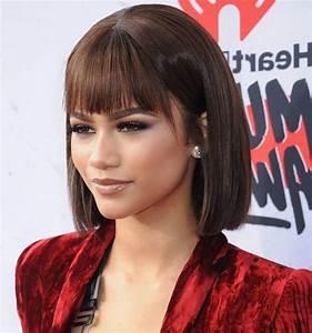 Frange Cheveux Mi Long : 6057 best coiffures images on pinterest ~ Melissatoandfro.com Idées de Décoration
