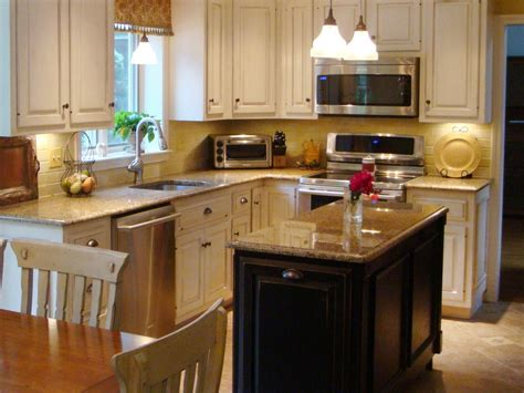 images of small kitchen islands small kitchen design ideas with island the kitchen