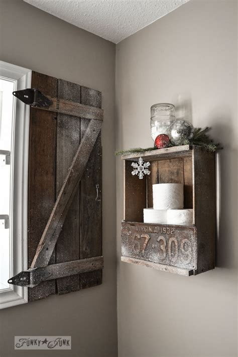 How To Make Barn Wood by How To Build Your Own Barn Wood Shutterfunky Junk Interiors