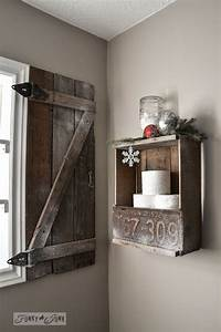 15 fabulous barn wood projects you can make yourself With barn wood window shutters