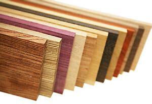 lbs  exotic hardwood lumber variety pack ebay