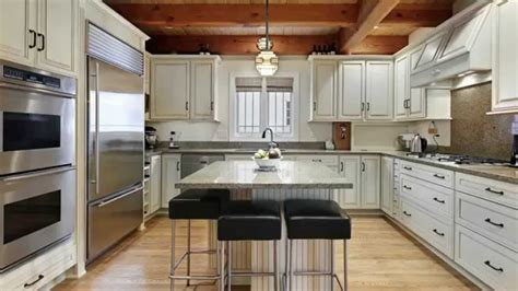 shaped kitchen designs youtube