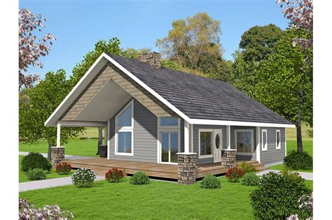 2 Bedrm 1176 Sq Ft Small House Plans Plan #132 1697