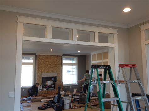 interior transom windows   house design