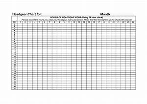 10 best images of hour by hour chart templates hourly With 24 hour time chart template