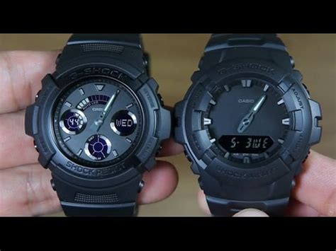 G Shock G 100bb 1adr G Shock casio g shock aw 591bb 1a vs g shock g 100bb 1a