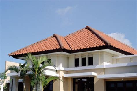 contoh model atap limas modern minimalis rumah impian