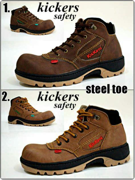 jual kickers safety shoes kuya paling murah sepatu