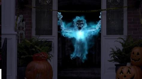 Holographic Halloween Decorations Youtube