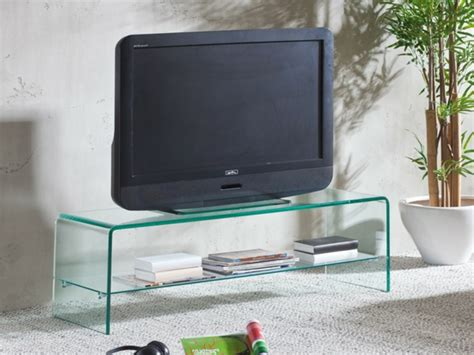 tv tisch glas fernsehtisch 22 effektvolle modelle archzine net