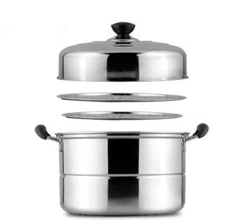 free shpping 4 layers stainless free shipping steamer pot casserole utensil stainless