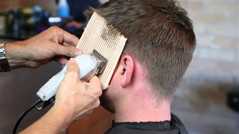 step  step guide  cutting mens hair  sharp