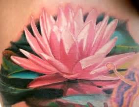 Lotus Flower Tattoos Meaning