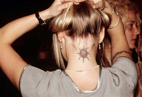 25+ Beautiful Tattoo Designs for Neck Backside - ShePlanet