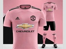 Manchester United's leaked 20182019 away kit is pink