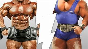 Wer Baut Garagentorantrieb Ein : bodybuilder vs powerlifter wer baut mehr muskeln auf ~ Watch28wear.com Haus und Dekorationen