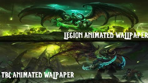 Legion Animated Wallpaper - illidan moving wallpaper wallpapersafari