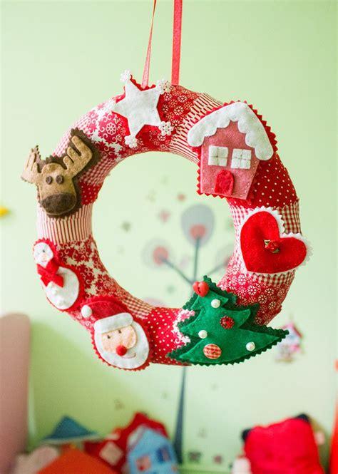 Skandinavische Weihnachtsdeko Nähen by Diy Adventskranz N 228 Hen Jahreszeitliche Deko Etc