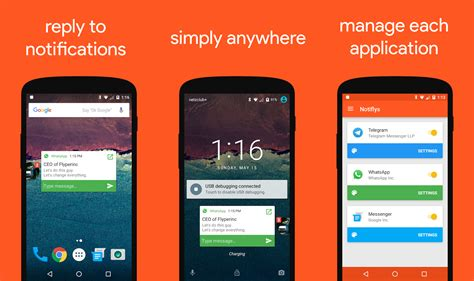 pop messaging gives every app reply android screens phandroid