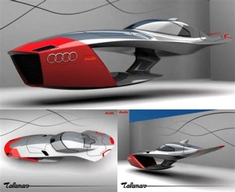 Audi Calamaro Concept Flying Car / Auto Motto