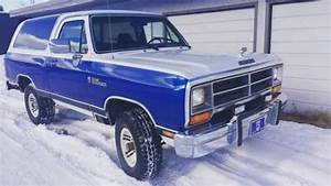 1990 Dodge Ramcharger Low Kms 318 4x4 For Sale In Calgary  Ab
