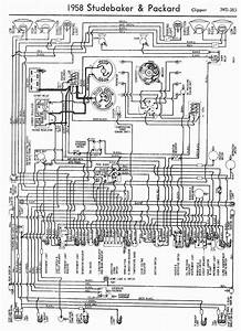 Wiring Diagram For 1958 Studebaker And Packard Clipper  60484