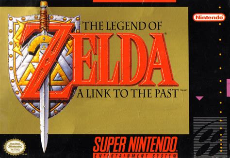 The Legend Of Zelda A Link To The Past 1991 Snes Box