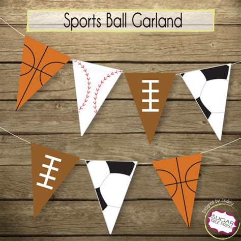 sports baby shower decorations  party favors baby