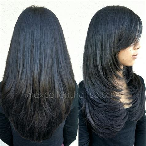 Front Layer Cutting Hairstyles Pics Really Long Layers